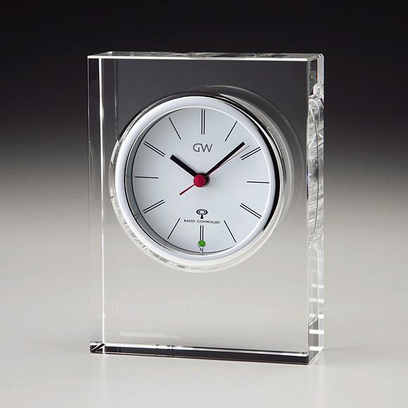 ガラス電波時計「プレシム」