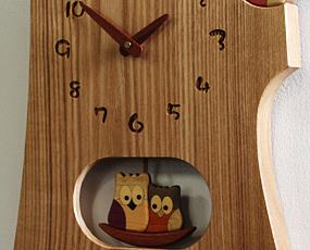 寄せ木振り子時計F41-2