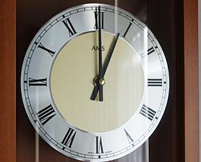 ドイツ AMS(エイエムエス) 社製 木製振り子時計 7087-9(AMS7087-9)
