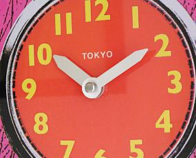 NEXTIME ワールドタイム 掛時計「Time Zones」 (ER-8158)