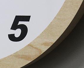 電波掛け時計(V-0012)