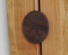 山の時計「大きな木の振り子時計フォーク」 (IS-CONVIfolk)