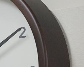 郡上八幡製、純国産 木製電波掛け時計 (KA-km20)