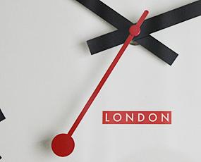 直輸入特価・英国ロジャーラッセル製掛け時計TS/SYNC (RLC-SYNC-)