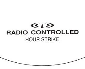 リズム時計 クラシック電波振り子時計 アンバリードF (RY-4MNA07-002)