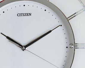 【 SALE在庫限り35%OFF 】CITIZEN シチズン 高感度電波掛け時計スリーウェイブ 5台限定 (RY-4MY830-003t)