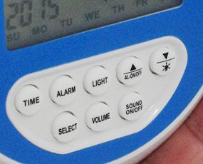 プロジェクター時計「オーロラ&シーウェーブ」 (SJ-LCD006)