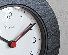石の置き時計「Vaerst 2800」 ドイツ製 (VA-2800)