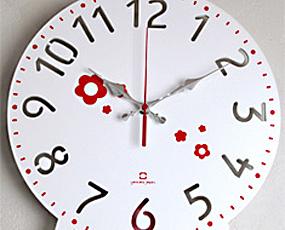 木製コーナー掛け時計 振り子 「チャイルドクロック」 (YK14-104)