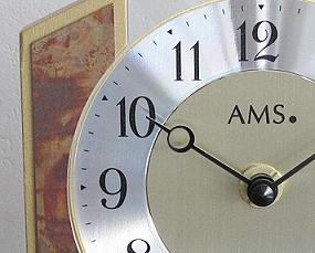 【期間限定40%OFF!】【 国内在庫 即納 】ドイツ AMS(アームス) 社製 ガラス製置き時計 (AMS1172)