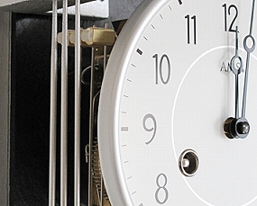 【期間限定33%OFF!】【 国内在庫 即納 】ドイツ AMSエイエムエス社製 機械式振り子時計(YM-AMS2713)