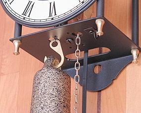 【期間限定40%OFF!】【 国内在庫 即納 】ドイツ AMS(アームス) 社製 機械式振り子時計 (AMS302)