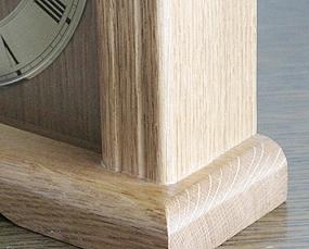 【期間限定40%OFF!】【 国内在庫 即納 】ドイツ AMS(アームス) 社製 木製置き時計(AMS5138/4Q)