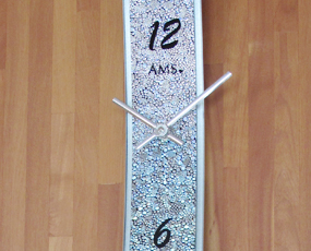 【期間限定27%OFF!】 【 国内在庫 即納 】ドイツ AMSエイエムエス社製 ガラスカーブ時計 9416 (YM-AMS9416)