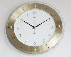 【期間限定27%OFF!】 【 国内在庫 即納 】ドイツ AMSエイエムエス社製 ラウンド掛け時計 9450 (YM-AMS9450)