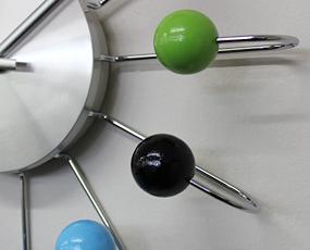 ジョージ・ネルソン 掛け時計「アトミック・ボールクロック」Atomic Ball  (KC-GN1820C)