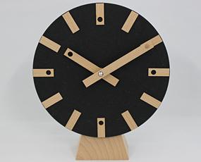 インハウス/INHOUSE 木製置き時計「LOLLY」英国製 (KC-M26)