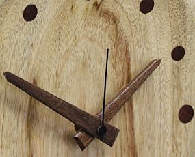 森の樹「フクロウの掛け時計」 (KO-FUKU)