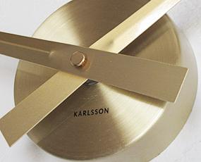 KARLSSON(カールソン)掛け時計、オランダデザイン「ビッグタイム・ミニ」