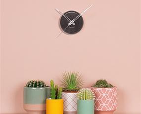 KARLSSON(カールソン)掛け時計、オランダデザイン「マーブルドット」
