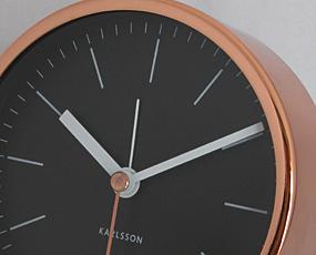 KARLSSON(カールソン)置き時計、オランダデザイン「ミニマル」