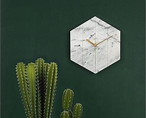KARLSSON(カールソン)掛け時計、オランダデザイン「6角・ヘクサゴン」
