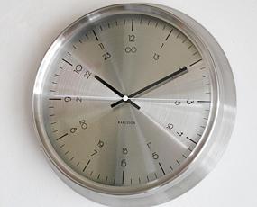 KARLSSON(カールソン)掛け時計、オランダデザイン「ノーティカル」