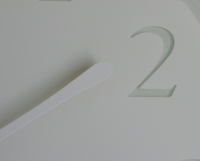掛け時計 アナログ 「CRESCENT」(KC12-02)