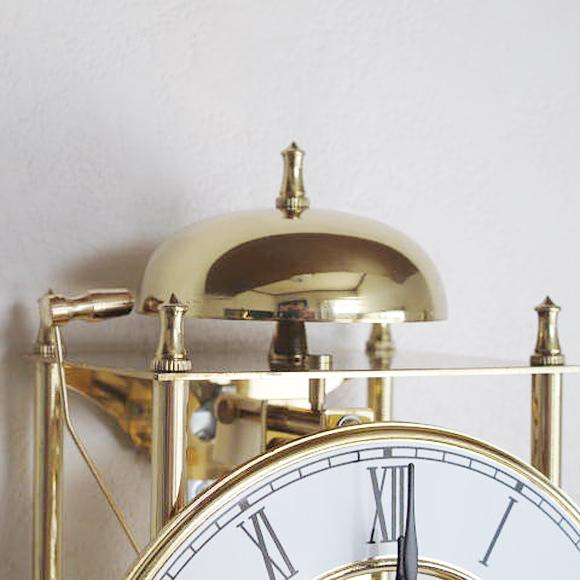 AMS 掛け時計 機械式 機械式振り子時計 アナログ ゴールド ドイツ製 AMS303 30%OFF 納期3〜4週間 (YM-AMS303)