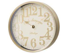掛け時計 アルミ  スイープムーブメント 小型 アナログ 16センチ リフォード (IF-CL1700)