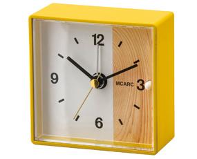 目覚し時計 アナログ アラーム 寝室 置き時計 リットール (IF-CL2552)