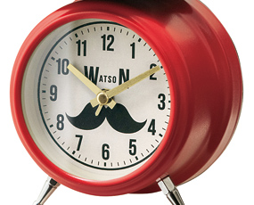 目覚し時計 アナログ ライト アラーム 置き時計 北欧 W. バートン (IF-CL2563)