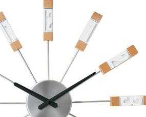 掛け時計 大型 おしゃれ スイープムーブメント アナログ スタビスカ (IF-CL2954)