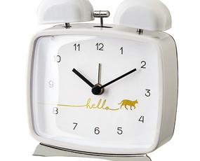 目覚し時計 アナログ アラーム 置き時計 北欧 ベル音 ミチーノ (IF-CL2958)