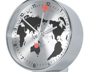 置き時計 アラーム スイープムーブメント 木製 おしゃれ (SP-1090)