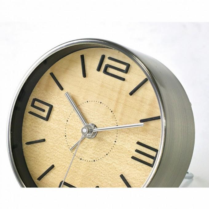 目覚し時計 おしゃれ アナログ スイープムーブメント 寝室 ギフト 置き時計 TELR1870 (SP-1870)