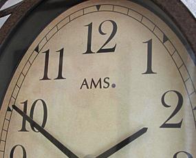 AMS ドイツ製 アイアン掛け時計 5976【期間限定30%OFF!】国内在庫 即納 (YM-AMS5976)
