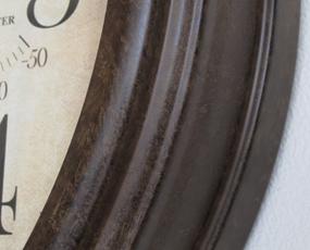 AMS ドイツ製 掛け時計 9463 アナログ 大型 温度計 湿度計 レトロ 天気予報 【期間限定30%OFF!】 国内在庫 即納 (AMS9463)