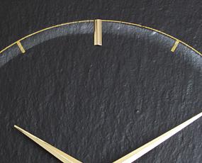 AMS ドイツ製 掛け時計 9516 アナログ 天然石 【期間限定30%OFF!】 国内在庫 即納 (AMS9516)