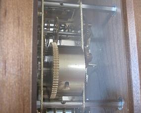 AMS 掛け時計 振り子時計 機械式 アナログ アンティーク ドイツ製 AMS2607-1 【期間限定30%OFF!】国内在庫 即納 (YM-AMS2607-1J)