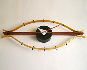 ジョージ・ネルソン 掛け時計「アイクロック」