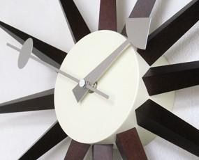 ジョージ・ネルソン 掛け時計「サンバーストクロック」