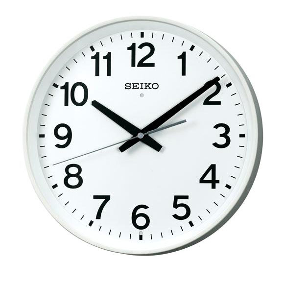 SEIKO(セイコー)掛け時計 オフィスタイプ(スイープ) 電波クロック
