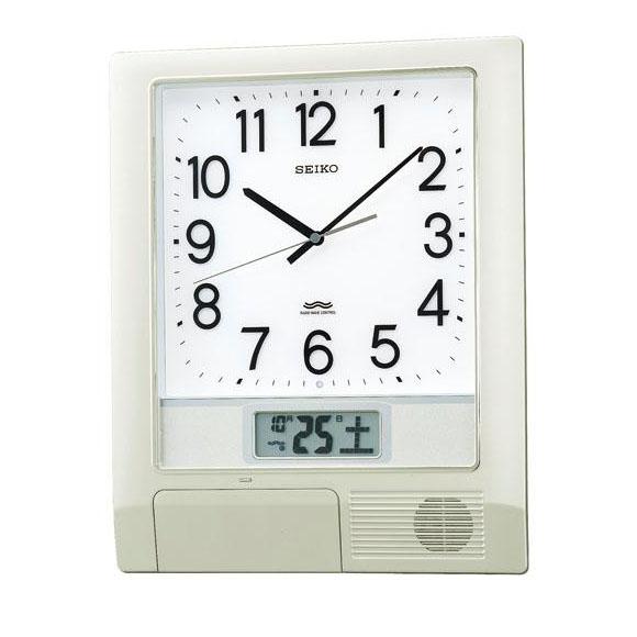 SEIKO(セイコー)掛け時計 オフィスタイプ(プログラムクロック) 電波クロック
