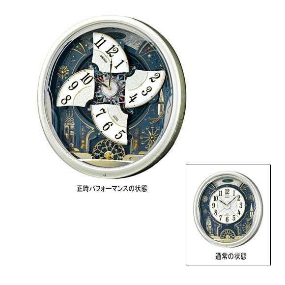 SEIKO(セイコー)掛け時計 からくり時計 電波クロック