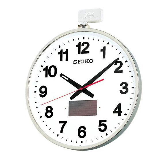 SEIKO(セイコー)掛け時計 オフィスタイプ(ソーラー屋外用) 電波クロック