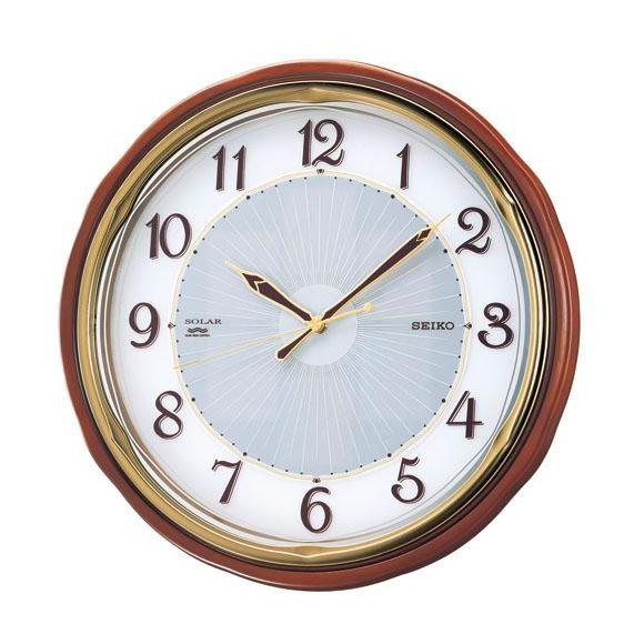 SEIKO(セイコー)掛け時計 ソーラープラス 電波クロック