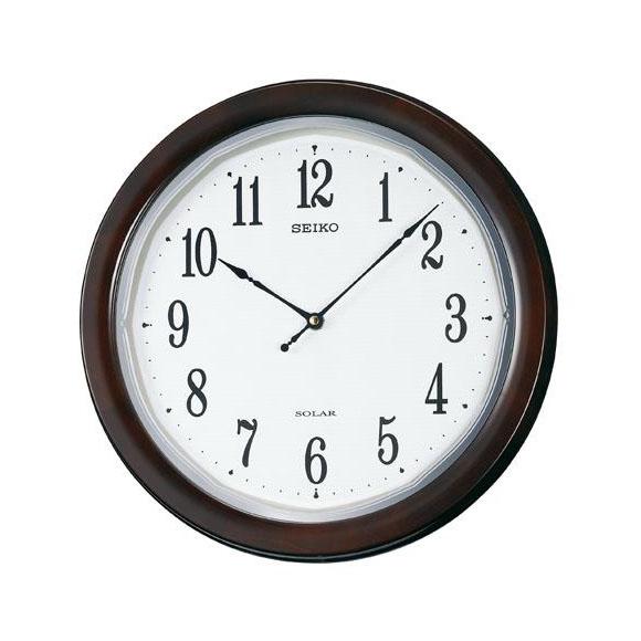 SEIKO(セイコー)掛け時計 薄型 電波クロック