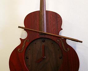 振り子時計バイオリン パドック
