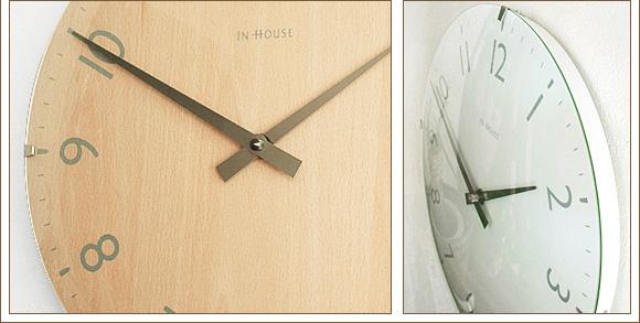 掛け時計インハウス/INHOUSEドームクロック